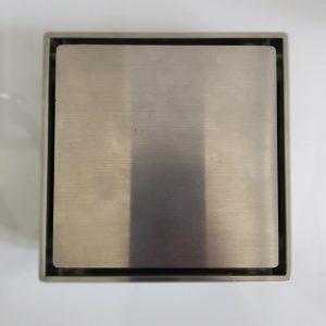 Phễu thoát sàn 120x120mm – bạc