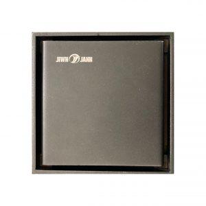 Phễu thoát sàn 100x100mm – Black