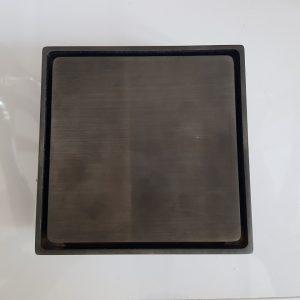 Phễu thoát sàn 120X120mm – đen